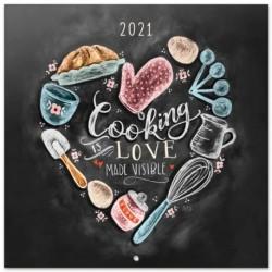 Calendario 2021 30X30 Lily & Val