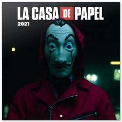 Calendario 2021 30X30 La Casa De Papel