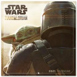 Calendario 2021 30X30 Star Wars The Mandalorian