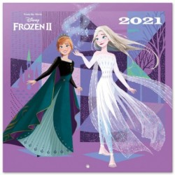 Calendario 2021 30X30 Disney Frozen