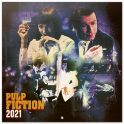 Calendario 2021 30X30 Pulp Fiction