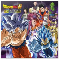 Calendario 2021 30X30 Dragon Ball
