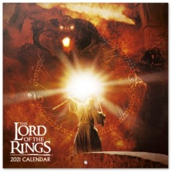 Calendario 2021 30X30 The Lord Of The Rings