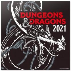 Calendario 2021 30X30 Dungeons & Dragons
