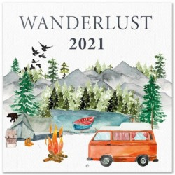 Calendario 2021 30X30 Wanderlust