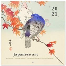 Calendario 2021 30X30 Japanise Art