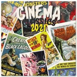 Calendario 2021 30X30 Cinema Classics