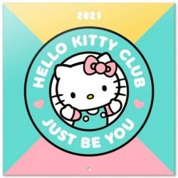 Calendario 2021 30X30 Hello Kitty