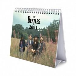 Calendario De Escritorio Deluxe 2021 The Beatles