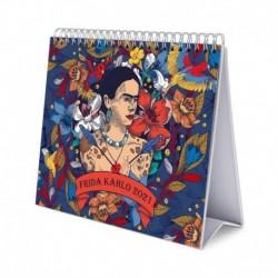 Calendario De Escritorio Deluxe 2021 Frida Kahlo