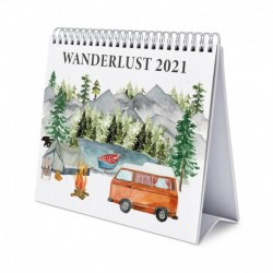 Calendario De Escritorio Deluxe 2021 Wanderlust