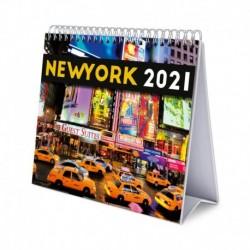 Calendario De Escritorio Deluxe 2021 New York