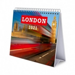 Calendario De Escritorio Deluxe 2021 London
