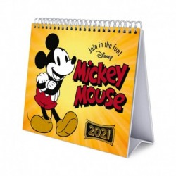 Calendario De Escritorio Deluxe 2021 Disney Mickey
