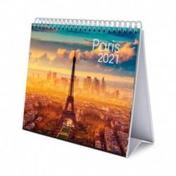 Calendario De Escritorio Deluxe 2021 Paris