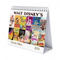 Calendario De Escritorio Deluxe 2021 Disney Classic Films