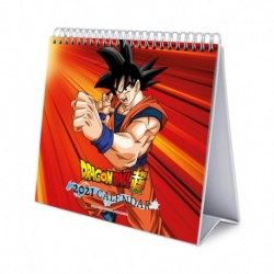 Calendario De Escritorio Deluxe 2021 Dragon Ball Super