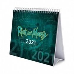 Calendario De Escritorio Deluxe 2021 Rick & Morty Season 4