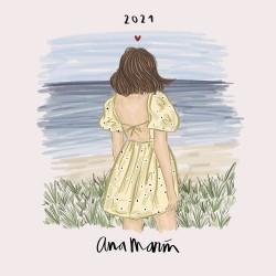 Calendario 2021 30X30 Ana Marin