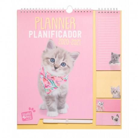 Planificador 2020/2021 Studio Pets Cat