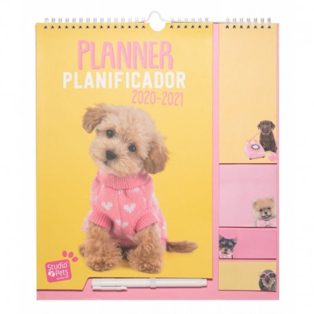 Planificador 2020/2021 Studio Pets Dog