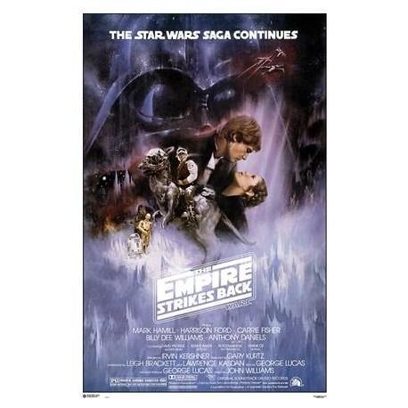 Poster Star Wars Episodio V El Imperio Contraatraca