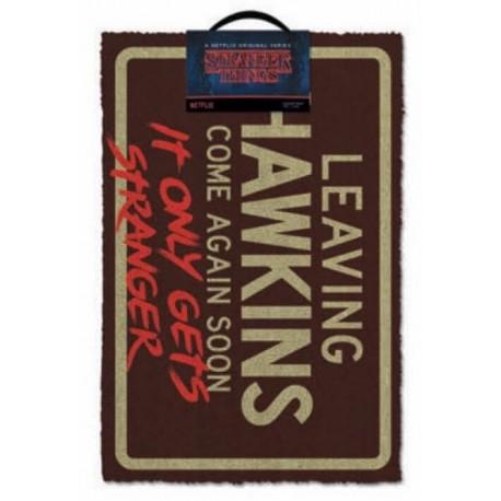 Felpudo Stranger Things Leaving Hawkins