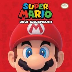 Calendario 2021 30X30 Super Mario