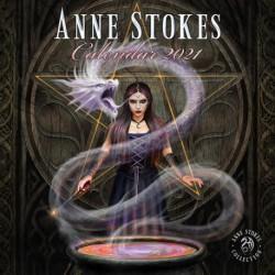 Calendario 2021 30X30 Anne Stokes