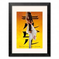 Print Enmarcado 30X40 Cm Kill Bill Katana