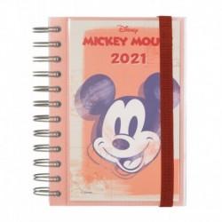 Agenda Anual 2021 Día Pagina Mickey