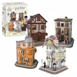 Puzzle 3D Harry Potter Set Del Callejon Diagon