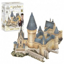 Puzzle 3D Harry Potter Gran Salon De Hogwarts