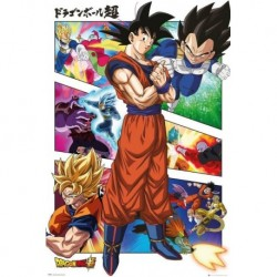Poster Grande Dragon Ball Super Panels