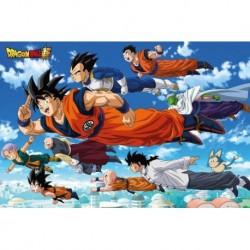 Poster Grande Dragon Ball Super Flying