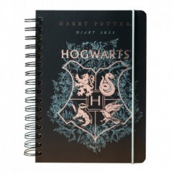 Agenda Anual 2021 A5 Semana Vista Harry Potter