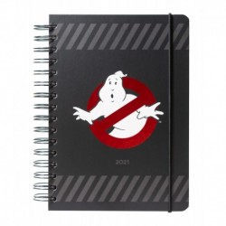 Agenda Anual 2021 A5 Semana Vista Ghostbusters
