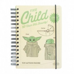 Cuaderno Tapa Forrada A5 Bullet Star Wars The Mandalorian