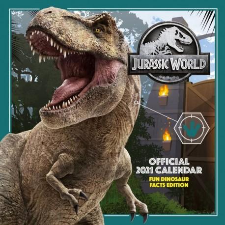 Calendario 2021 30X30 Jurassic World