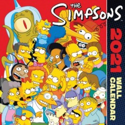 Calendario 2021 30X30 The Simpsons