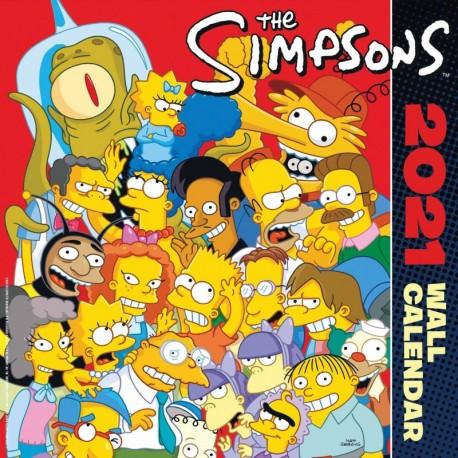 Calendario 2021 30X30 The Simpsons