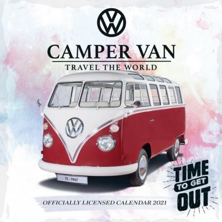 Calendario 2021 30X30 Vw Camper Vans