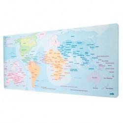 Alfombrilla Raton Xl Mapa Del Mundo 2