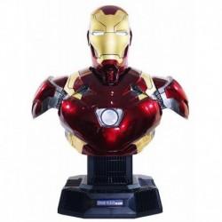 Altavoz Marvel Iron Man Mark 46 Busto Escala 1:1