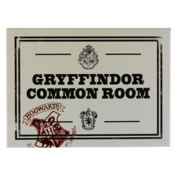 imán Metal Harry Potter Gryffindor Common Room