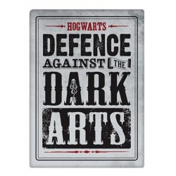 imán Metal Harry Potter Defence Against The Dark Arts