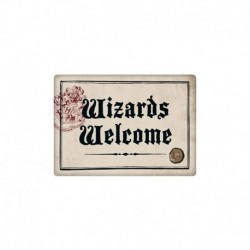 imán Metal Harry Potter Wizards Welcome