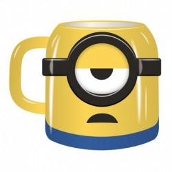 Taza Relieve 3D Minions Mood: Coffee