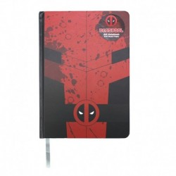 Cuaderno A5 Marvel Deadpool