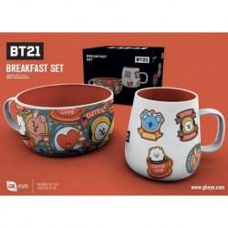 Set Desayuno Bt21 Icons